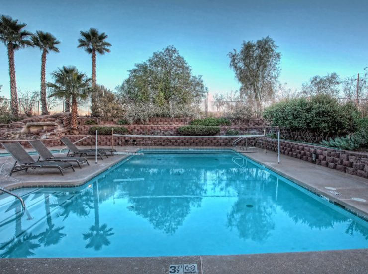 FKK-Urlaub Mira Vista Resort Arizona USA - Pool
